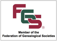 Member of the Federation of Genealogical Societies